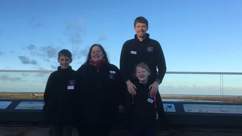 Bradbury family are now volunteering at Cley