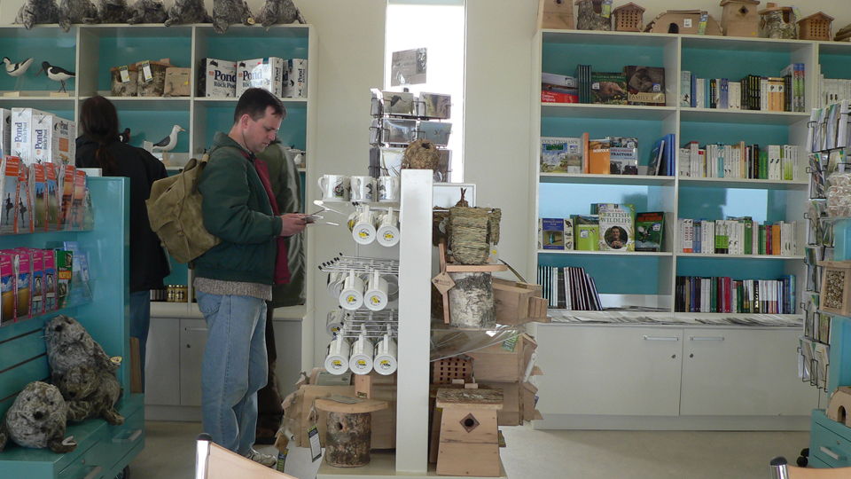 Gift shop at NWT Cley Marshes