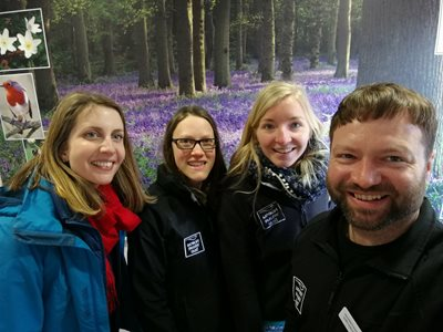 NWT's new seasonal engagement and education staff
