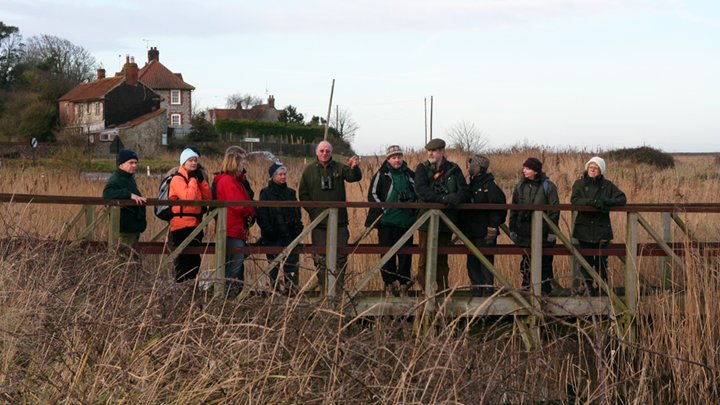 Walk with the Warden, Norfolk Wildlife Trust Cley Marshes | Bernard Bishop has been the warden for more than forty years and is the third generation of his family to work at Cley Marshes. | Birdwatching, wildlife, walking, outdoors