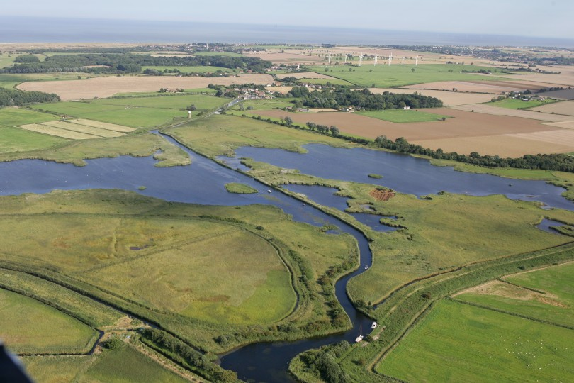 Aerial Photograph of Martham Broad, Mike Page