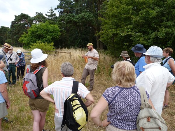 Volunteers Get Together at Weeting Heath