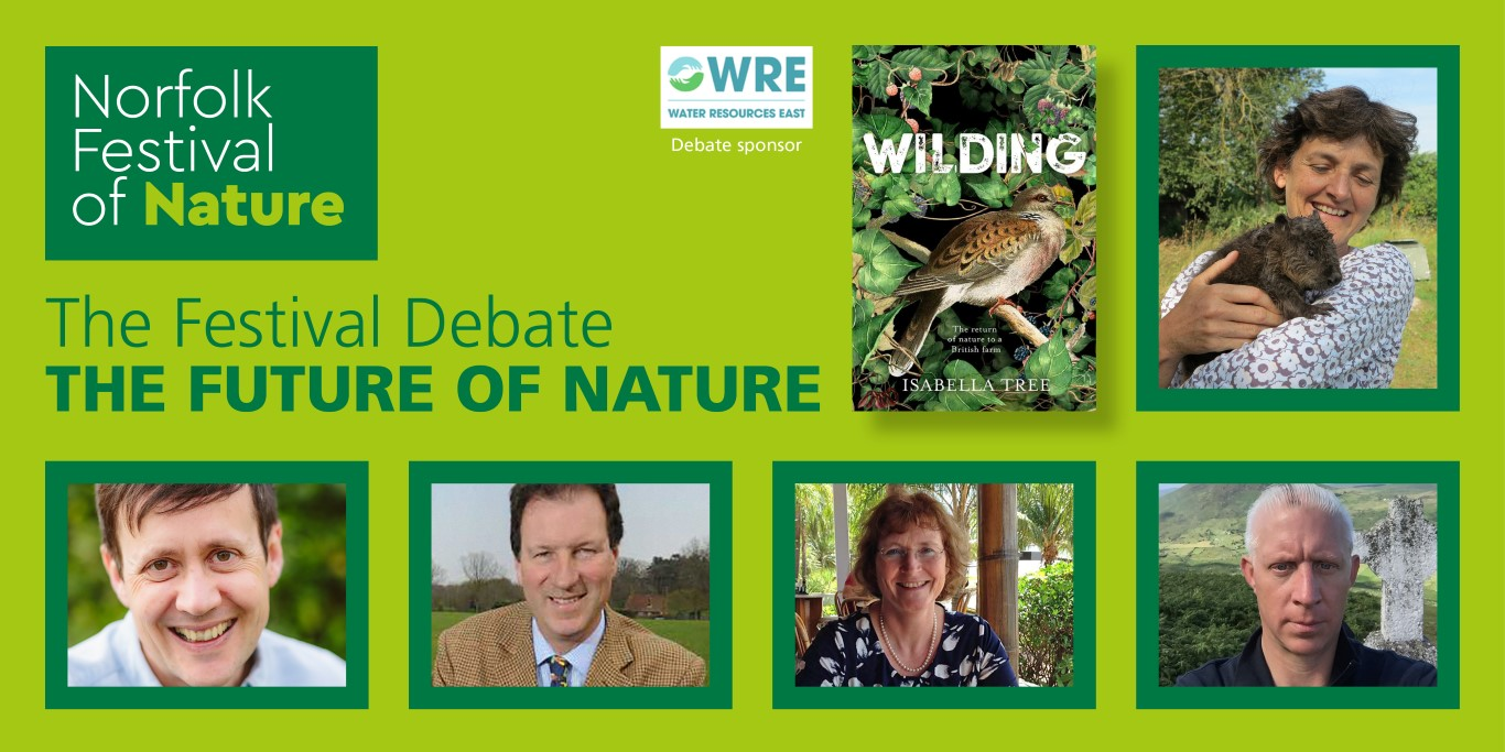 Festival Debate will consider the future of nature in Norfolk
