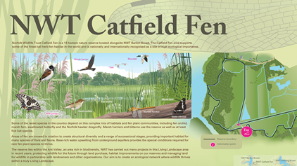 New wildlife information signs
