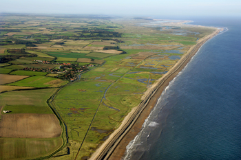 Cley to Salthouse Living Landscape, photo by Mike Page