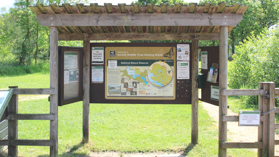 Nature trails at Hickling
