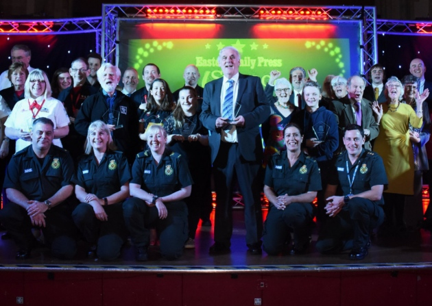 Longstanding volunteer wins Lifetime Achievement Award at Stars of Norfolk